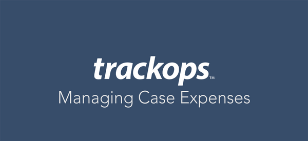 Feature Spotlight: Case Expenses